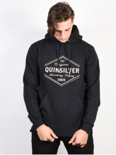 QUIKSILVER mikina NOWHERE NORTH BLACK