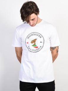 QUIKSILVER triko CAFIN WHITE