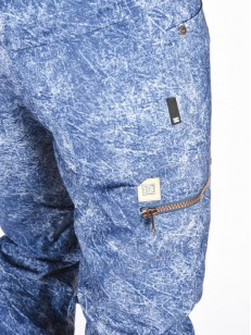 DC kalhoty VIVA DARK BLUE ACID WASH DENIM A