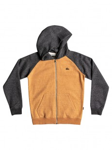 QUIKSILVER mikina EVERY INCA GOLD HEATHER