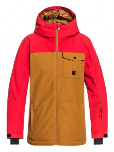 QUIKSILVER bunda MISSION SOLID GOLDEN BROWN