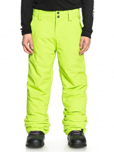 QUIKSILVER kalhoty ESTATE LIME GREEN