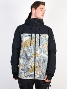 QUIKSILVER bunda MISSION BLOCK GRAPE LEAF TANENBAU