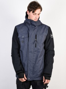 QUIKSILVER bunda MISSION DENIM DRESS BLUES