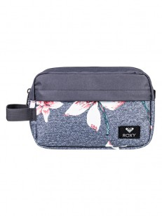 ROXY taška BEAUTIFULLY CHARCOAL HEATHER FLOWER FIE