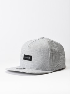 HURLEY kšiltovka DRI-FIT STAPLE Wolf Grey
