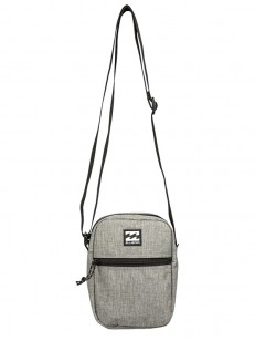 BILLABONG kabelka BOULEVARD SATCHEL GREY HEATHER