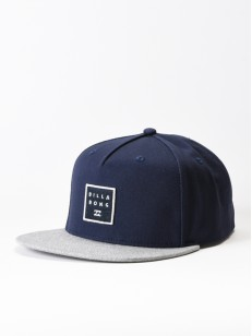 BILLABONG kšiltovka STACKED NAVY GREY HEATHER
