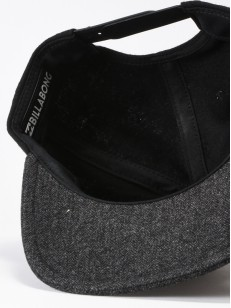 BILLABONG kšiltovka OXFORD BLACK/CHARCOAL