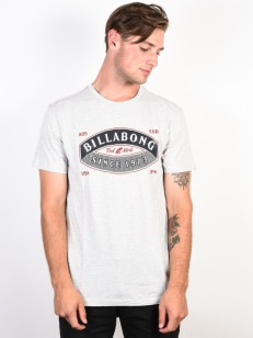 BILLABONG triko GUARDIANT LT GREY HEATHER