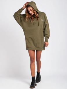 BILLABONG šaty PRETTY RELAX OLIVE