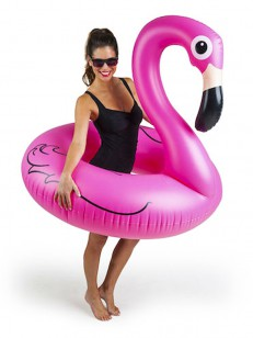 BIG MOUTH INC.  FLOAT FLAMINGO PINK