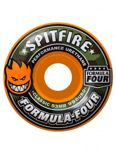 SPITFIRE kolečka F4 99D COVERT CLASSIC ORANGE