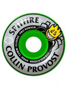 SPITFIRE kolečka F4 99D PROVOST PRO BURNER Green