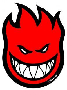 SPITFIRE samolepka FIREBALL MINI RED