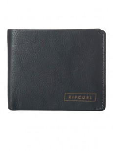 RIP CURL peňaženka LASER 2 IN 1 BLACK
