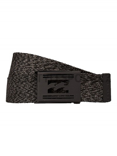 BILLABONG pásek LOGISTIK HEATHER BLACK HEATHER