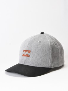 BILLABONG kšiltovka EMBLEM GREY HEATHER