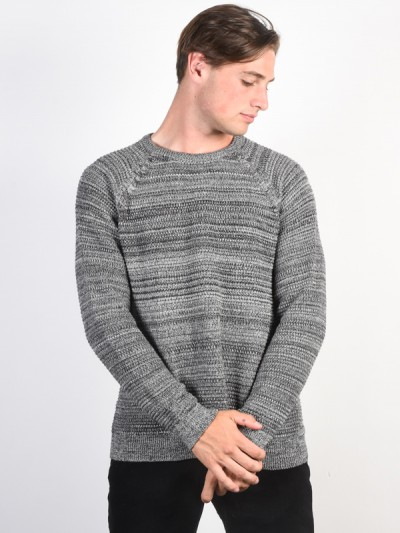 BILLABONG svetr BROKE GREY HEATHER