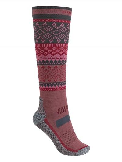 BURTON ponožky PERFORMANCE UL SK ROSE BROWN