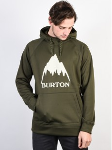 BURTON mikina CROWN BONDED FOREST NIGHT