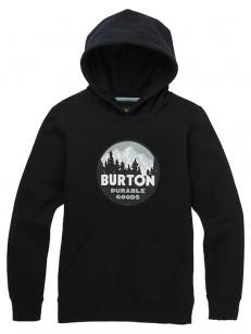 BURTON mikina TAPROOT TRUE BLACK