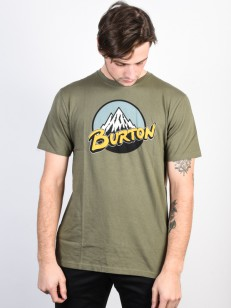 BURTON tričko DURABLE GOODS DUSTY OLIVE