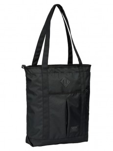 BURTON kabelka NS ZIP CRATE TOTE TRUE BLACK TWILL