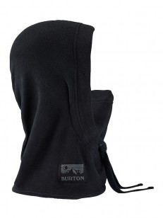BURTON šatka BURKE TRUE BLACK