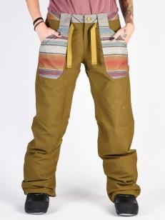 BURTON kalhoty VEAZIE HICKRY/HAWTSK