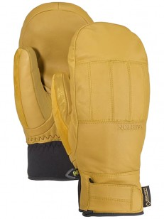 BURTON rukavice GONDY GORE LTHR MITT RAW HIDE