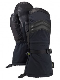 BURTON rukavice GORE WARMEST TRUE BLACK