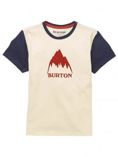BURTON tričko CLASSIC MOUNTAIN HIGH CANVAS