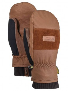 BURTON rukavice FREE RANGE MITT MEDIUM BROWN