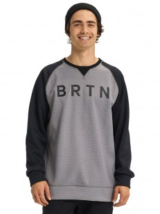 BURTON mikina CROWN BONDED HTRMNT/TRUBLK