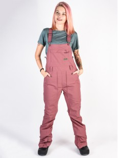 BURTON kalhoty AVALON BIB ROSE BROWN