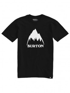BURTON tričko CLASSIC MOUNTAIN HIGH TRUE BLACK
