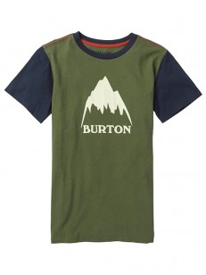 BURTON triko CLASSIC MOUNTAIN HIGH DUSTY OLIVE