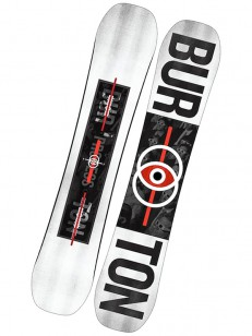BURTON snowboard PROCESS WHT