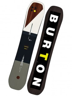 BURTON snowboard CUSTOM FLYING V BLK