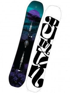 BURTON snowboard FEELGOOD FLYING V BLU/WHT