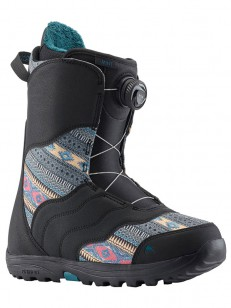 BURTON boty MINT BOA BLACK/MULTI