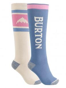 BURTON ponožky WEEKEND 2 PACK PELICAN