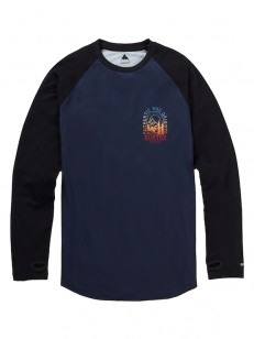 BURTON triko ROADIE TECH T MOOD INDIGO