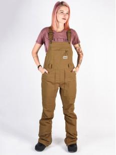 BURTON kalhoty AVALON BIB HICKORY