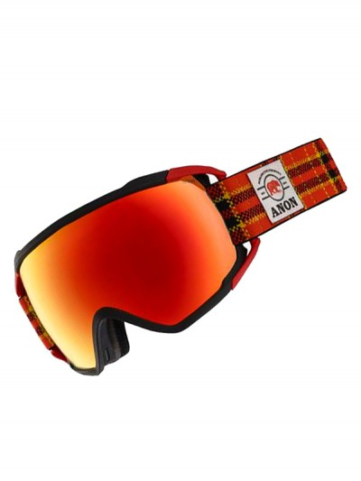 ANON brýle CIRCUIT MFI FLANNEL/SONARRED