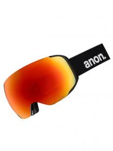 ANON okuliare M2 MFI W/SPR BLACK/SONARRED