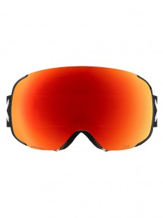 ANON brýle M2 MFI W/SPR BLACK/SONARRED