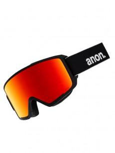 ANON okuliare M3 MFI W/SPR BLACK/SONARRED