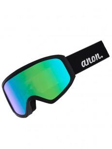 ANON okuliare INSIGHT W/SPARE BLACK/GREEN SOLEX